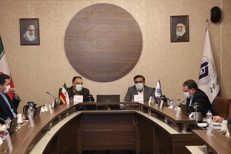گزارش تصویری نشست معاون نظارت بانک مرکزی با رئیس اتاق تعاون ایران