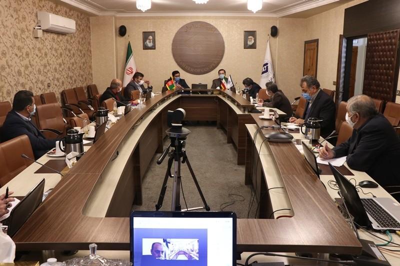 گزارش تصویری نشست مشترک رایزن بازرگانی کشور افغانستان با برخی از مدیران عامل اتحادیه های سراسری