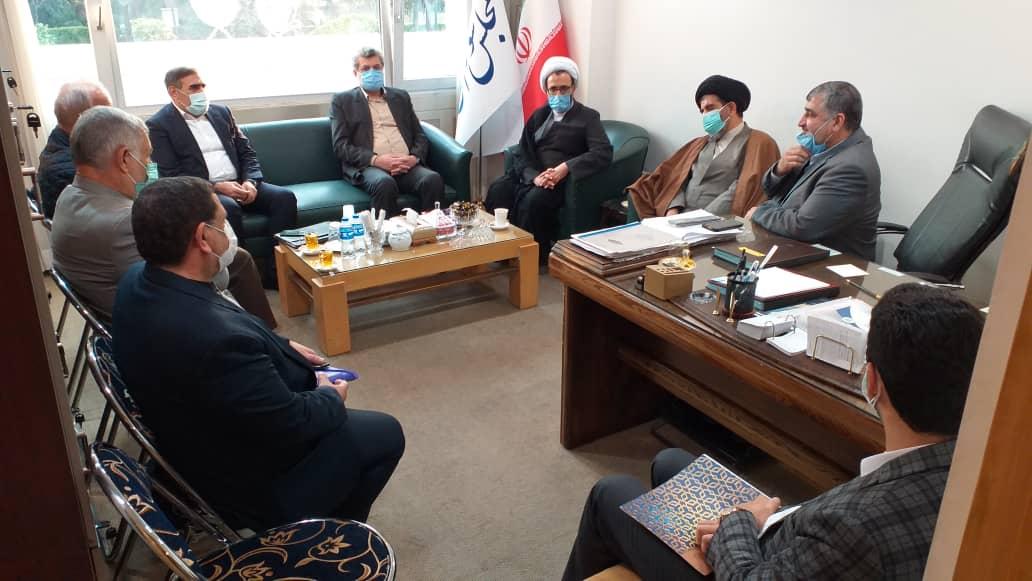 گزارش تصویری نشست مشترک هیات رئیسه فراکسیون تعاون مجلس با رئیس اتاق تعاون ایران