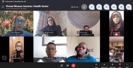 نشست مشترک بانوان تعاونگر ایران و آفریقایجنوبی به صورت آنلاین برگزار شد