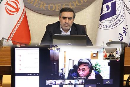 وبینار بینالمللی کارآفرینی جمعی در تعاونیها با حضور رئیس اتاق تعاون ایران برگزار شد