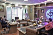 زمینه های همکاری اتاق تعاون با سازمان امور اراضی بررسی شد