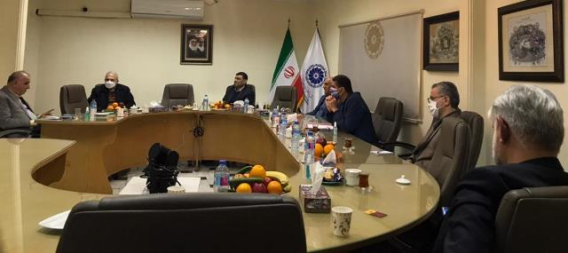 جلسه هماهنگی دبیرخانه مشترک رؤسای اتاقهای تعاون، بازرگانی و اصناف استان گیلان