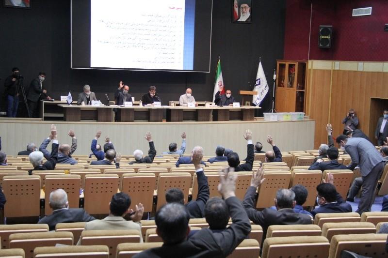 گزارش تصویری مجمع نمایندگان اتاق تعاون ایران