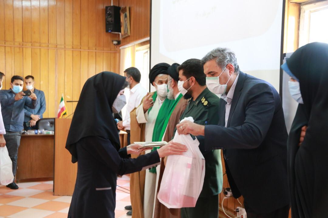برگزاری مراسم تقدیر از بانوان تعاونگر و فعال اقتصادی به مناسبت هفتهی حجاب و عفاف در همدان