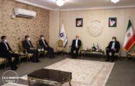 دیدار رئیس اتاق تعاون ایران با رئیس کل دادگستری کهگیلویه و بویراحمد
