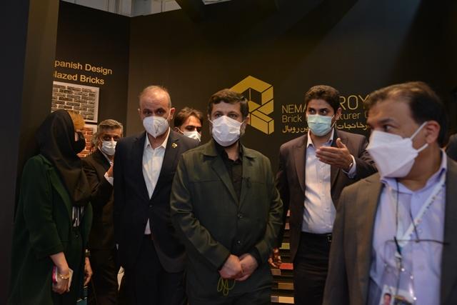 گزارش تصویری چهارمین روز بیست و یکمین نمایشگاه بینالمللی صنعت ساختمان